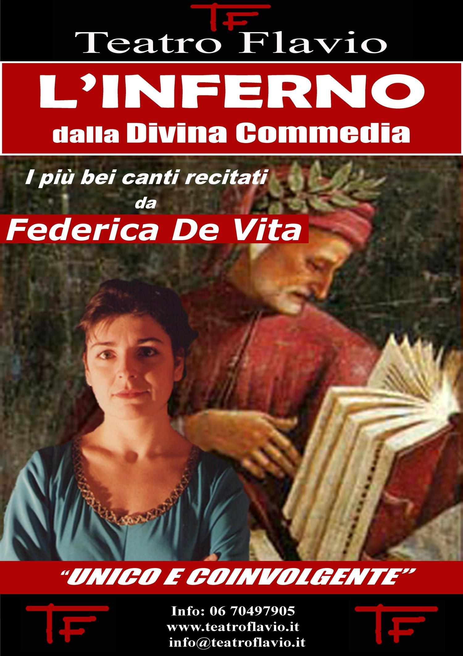 L'Inferno, Teatro Flavio Roma