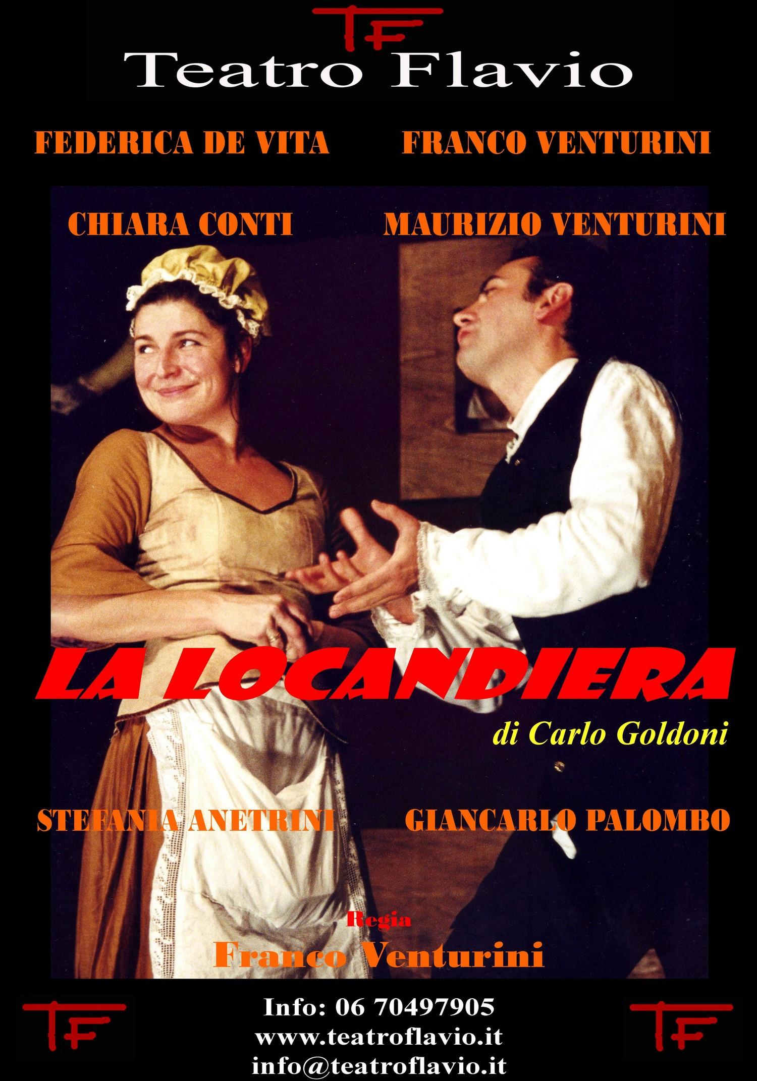 La Locandiera, Teatro Flavio di Roma