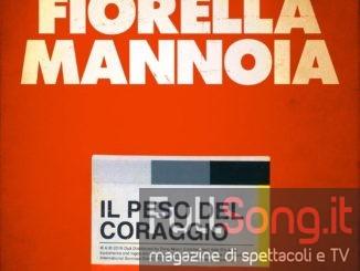 Fiorella Mannoia: il peso del coraggio, locandina