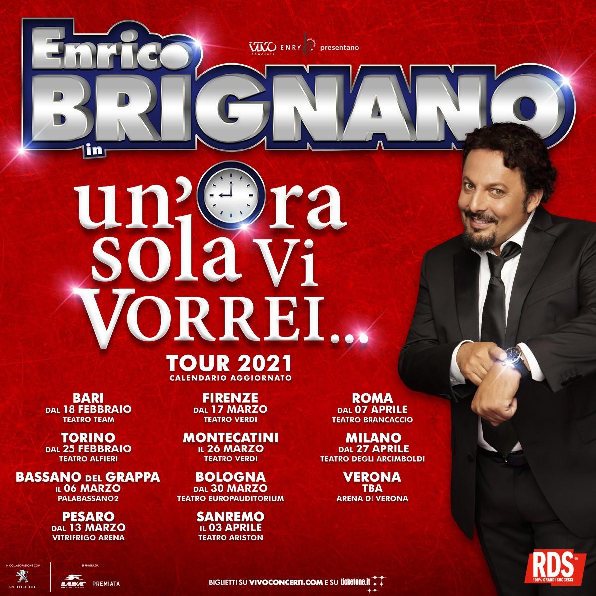 Enrico Brignano 2021