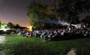 Lago film festival con pubblico